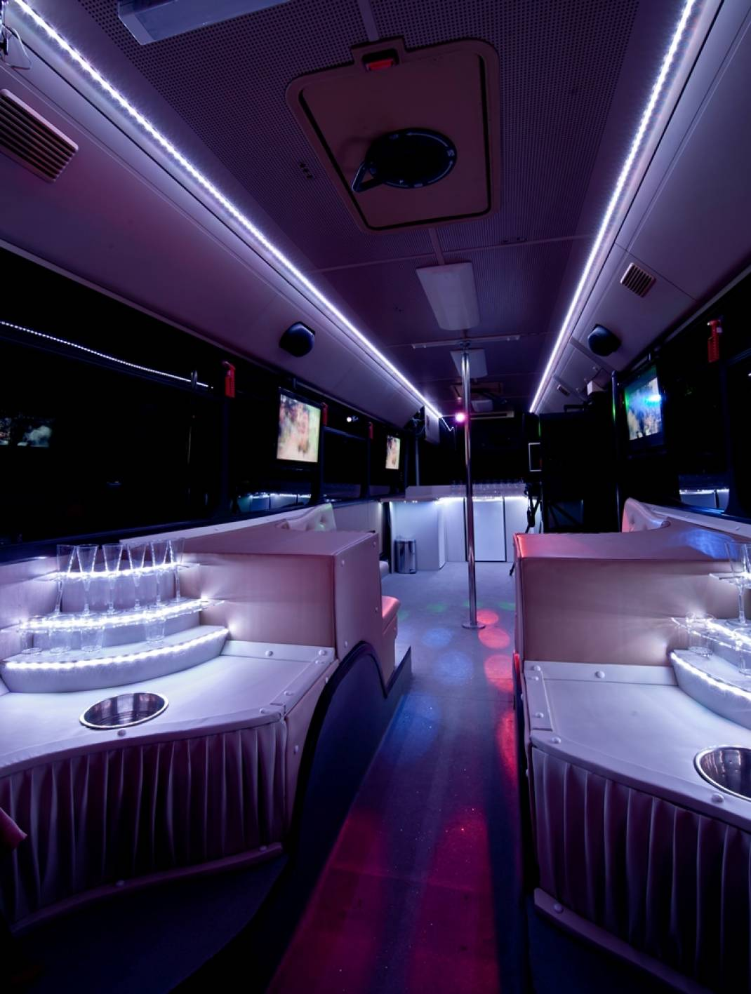 Airport Party Bus