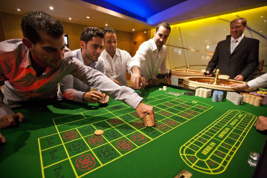 en grupp kasinon, Krasnoyarsk